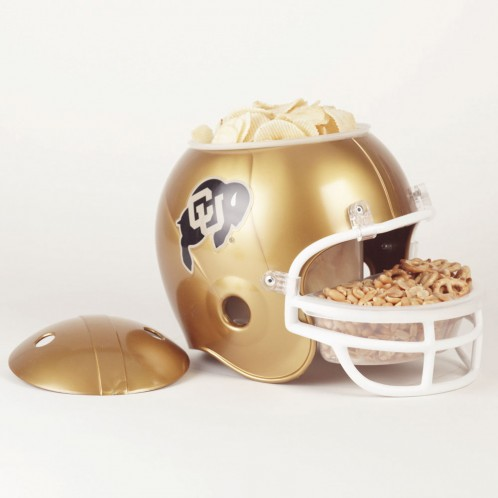 Colorado Buffaloes Snack Helmet