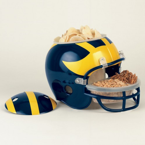 Michigan Wolverines Snack Helmet