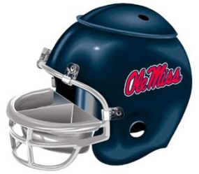 Mississippi Rebels Snack Helmet