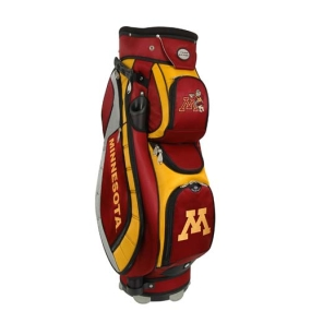 Minnesota Golden Gophers Letterman's Club II Cooler Cart Golf Bag