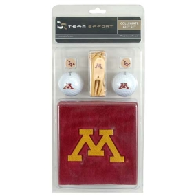 Minnesota Golden Gophers Golf Gift Set