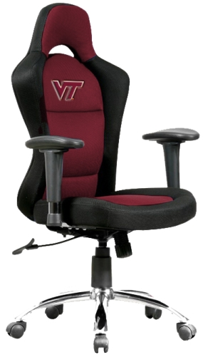 Virginia Tech Hokies Sports Bucket Seat Office Chair