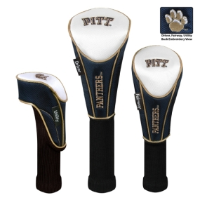 Pittsburgh Panthers Set of 3 Golf Club Headcovers