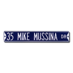 35 MIKE MUSSINA AVE Street Sign