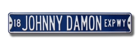 18 JOHNNY DAMON EXPWY Street Sign