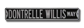 DONTRELLE WILLIS WAY Street Sign