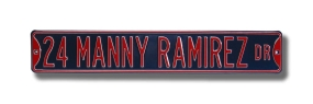 24 MANNY RAMIREZ DR Street Sign