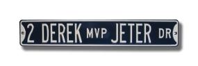 DEREK MVP JETER DR Street Sign