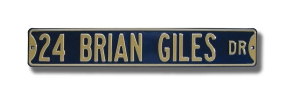 24 BRIAN GILES DR Street Sign