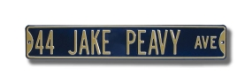 44 JAKE PEAVY AVE Street Sign