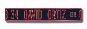 34 DAVID ORTIZ DR Street Sign