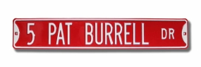 5 PAT BURRELL DR Street Sign