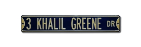 3 KHALIL GREENE DR Street Sign