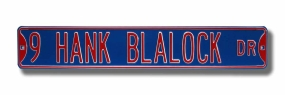 9 HANK BLALOCK DR Street Sign