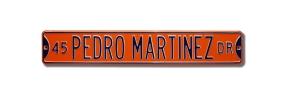 45 PEDRO MARTINEZ DR Street Sign