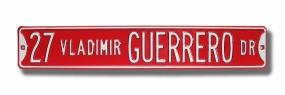 27 VLADIMIR GUERRERO DR Street Sign