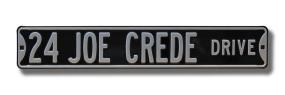 24 JOE CREDE DRIVE Street Sign