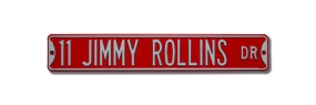 11 JIMMY ROLLINS DR Street Sign
