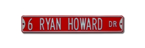 6 RYAN HOWARD DR Street Sign