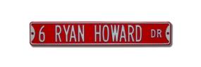 6 RYAN HOWARD DR Street Sign