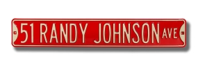 51 RANDY JOHNSON AVE Street Sign