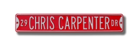 29 CHRIS CARPENTER DR Street Sign