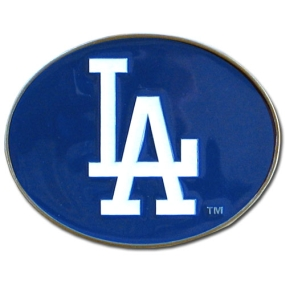 Dodgers Logo Belt Buckle