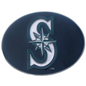 Mariners Logo Belt Buckle