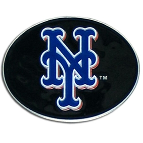 Mets Logo Belt Buckle
