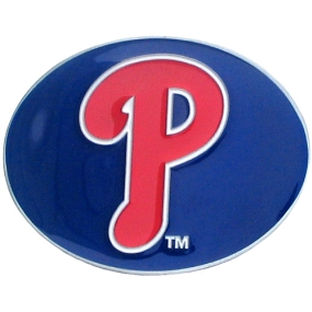 Phillies Logo Belt Buckle
