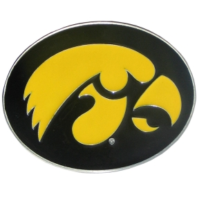 Iowa Logo Belt Buckle