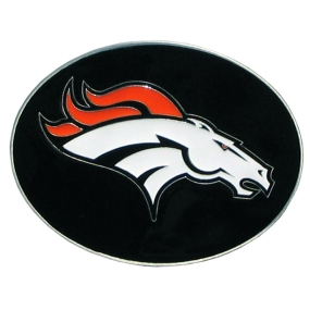 Broncos Logo Belt Buckle