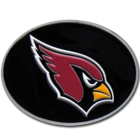 Cardinals Logo Belt Buckle