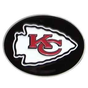 Chiefs Logo Belt Buckle