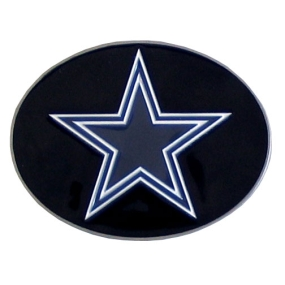Cowboys Logo Belt Buckle