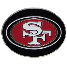 49ers Logo Belt Buckle