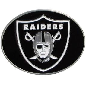 Raiders Logo Belt Buckle