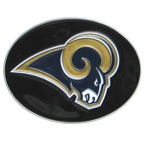Rams Logo Belt Buckle