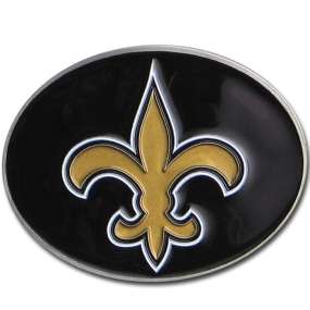 Saints Logo Belt Buckle