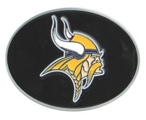 Vikings Logo Belt Buckle