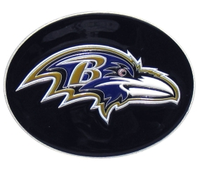 Ravens Logo Belt Buckle