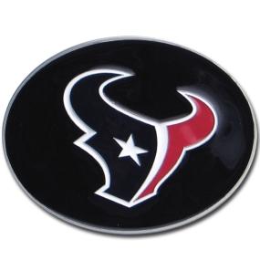 Texans Logo Belt Buckle
