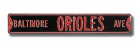 BALTIMORE ORIOLES AVE Street Sign