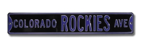 COLORADO ROCKIES AVE Street Sign