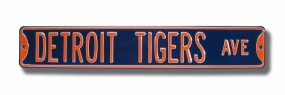 DETROT TIGERS AVE Street Sign