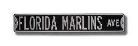 FLORIDA MARLINS AVE Street Sign