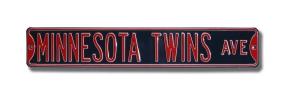 MINNESOTA TWINS AVE Street Sign