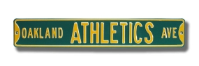 OAKLAND A'S AVE Street Sign