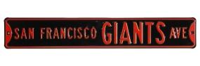 SAN FRANCISCO GIANTS AVE Street Sign