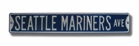 SEATTLE MARINERS AVE Street Sign